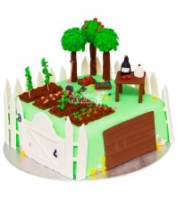 №1765 Торт огород