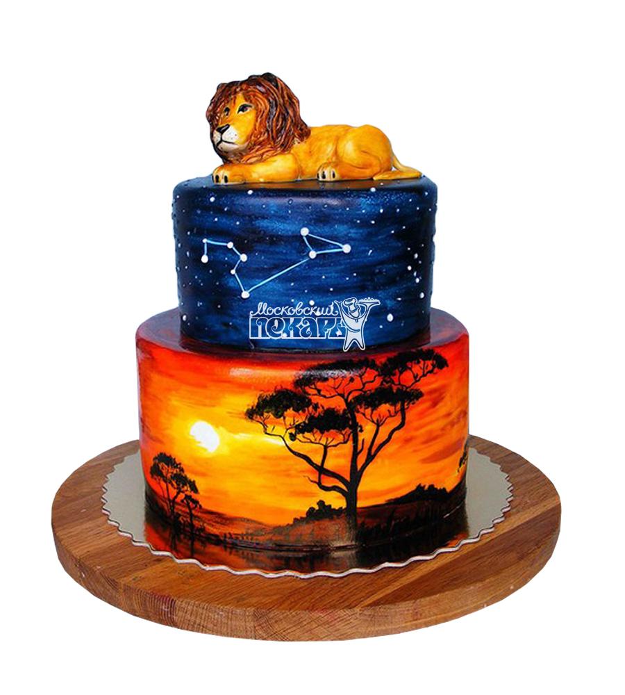 №1807 Торт Король Лев