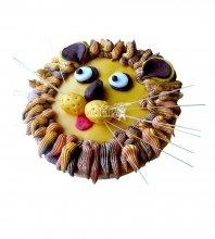 №1813 3D Торт Король Лев