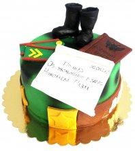 №1831 Торт на дембель