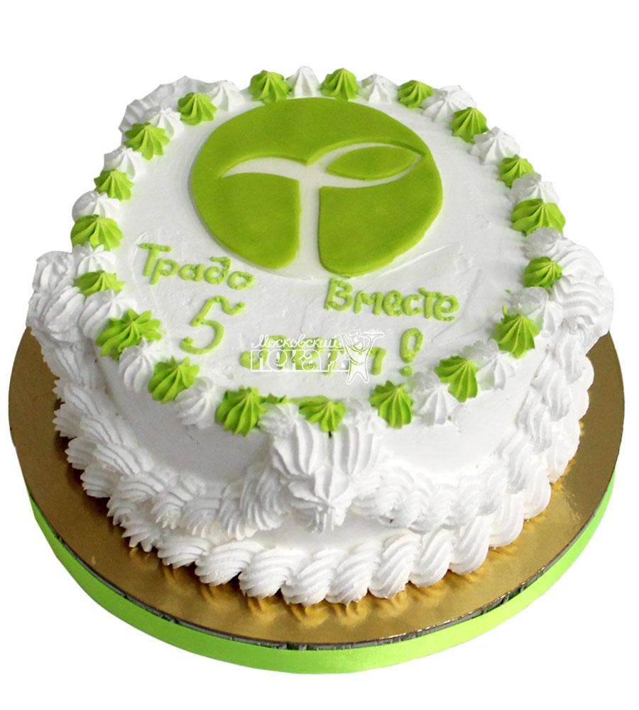 №1836 Корпоративный торт для Традо