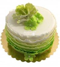 №1846 Торт с цветами