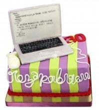 №1853 Торт ноутбук