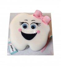 №1895 3D Торт на 1 зубик