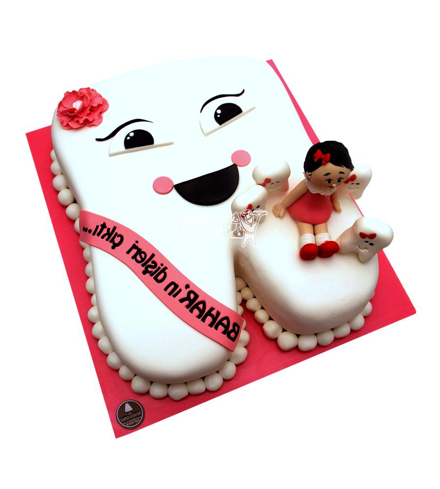 №1896 3D Торт на 1 зубик