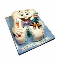 №1901 3D Торт на 1 зубик
