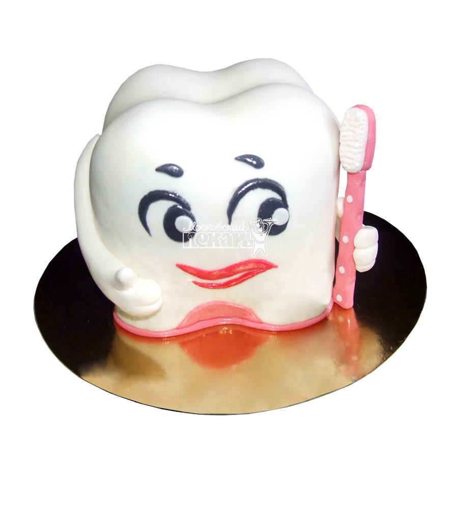 №1902 3D Торт на 1 зубик