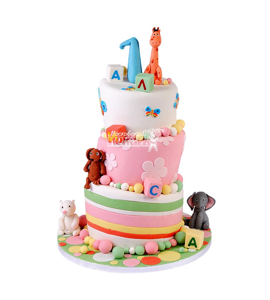 №1905 Детский торт на 1 годик
