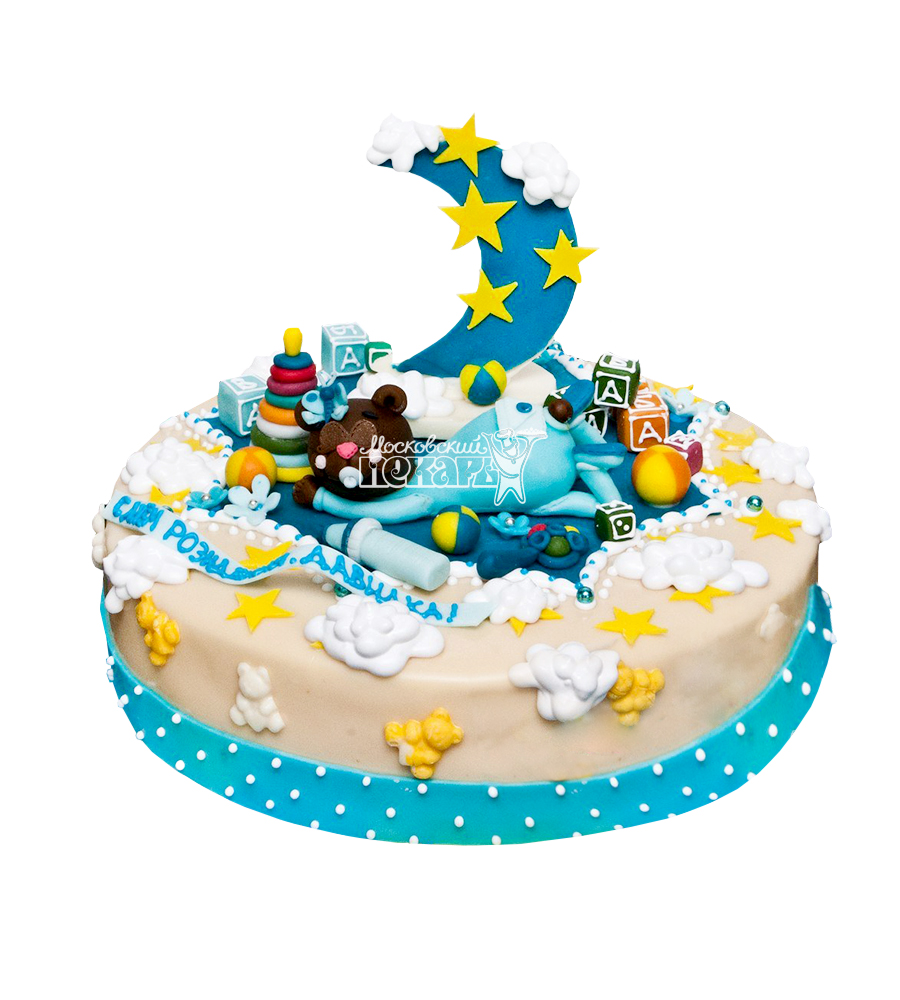 №1906 Детский торт на 1 годик