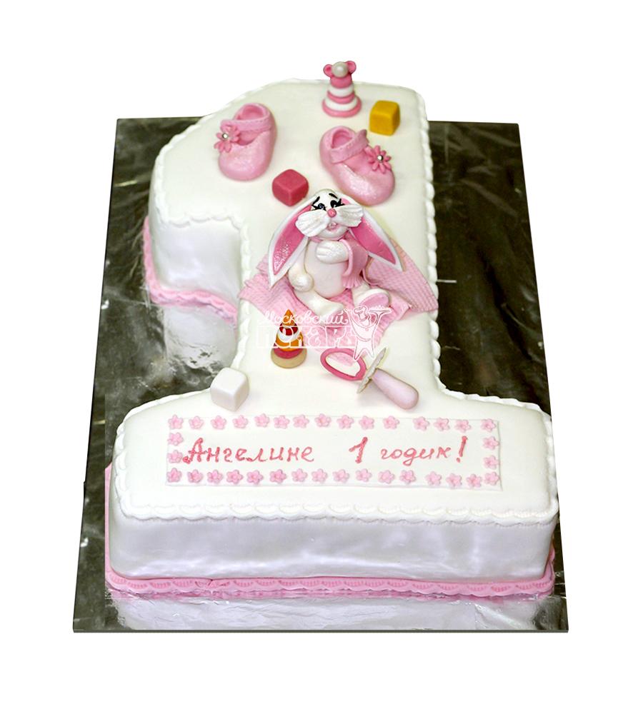 №1911 Детский торт на 1 годик