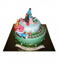 №1915 Детский торт на 1 годик