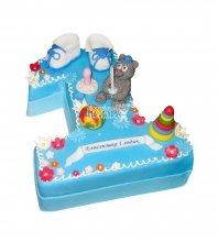 №1917 Детский торт на 1 годик