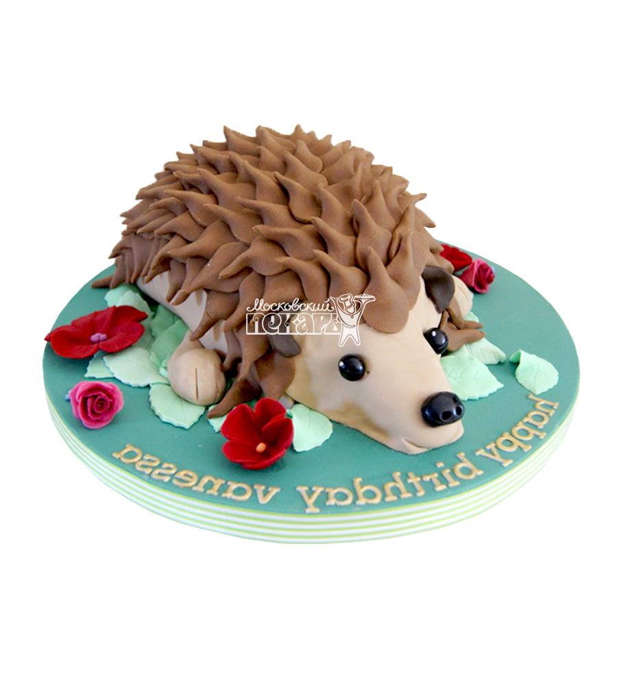 №1939 3D Торт ежик