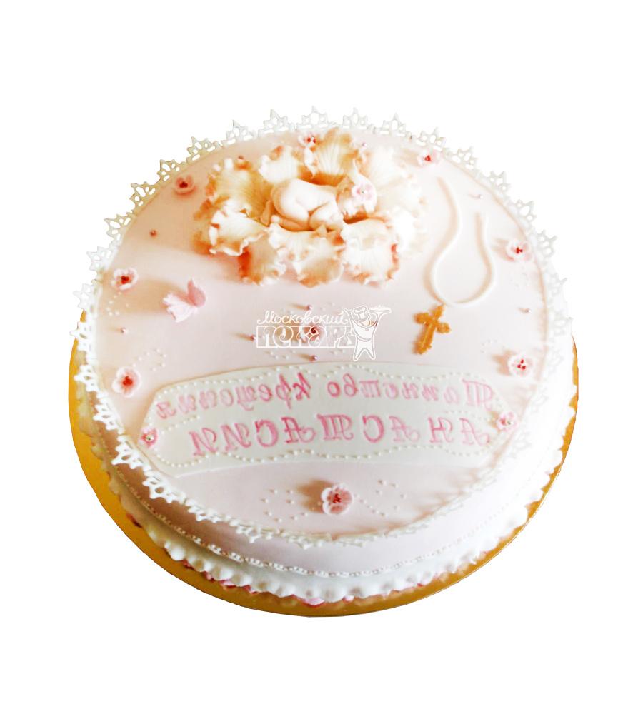 №1967 Детский торт на крещение