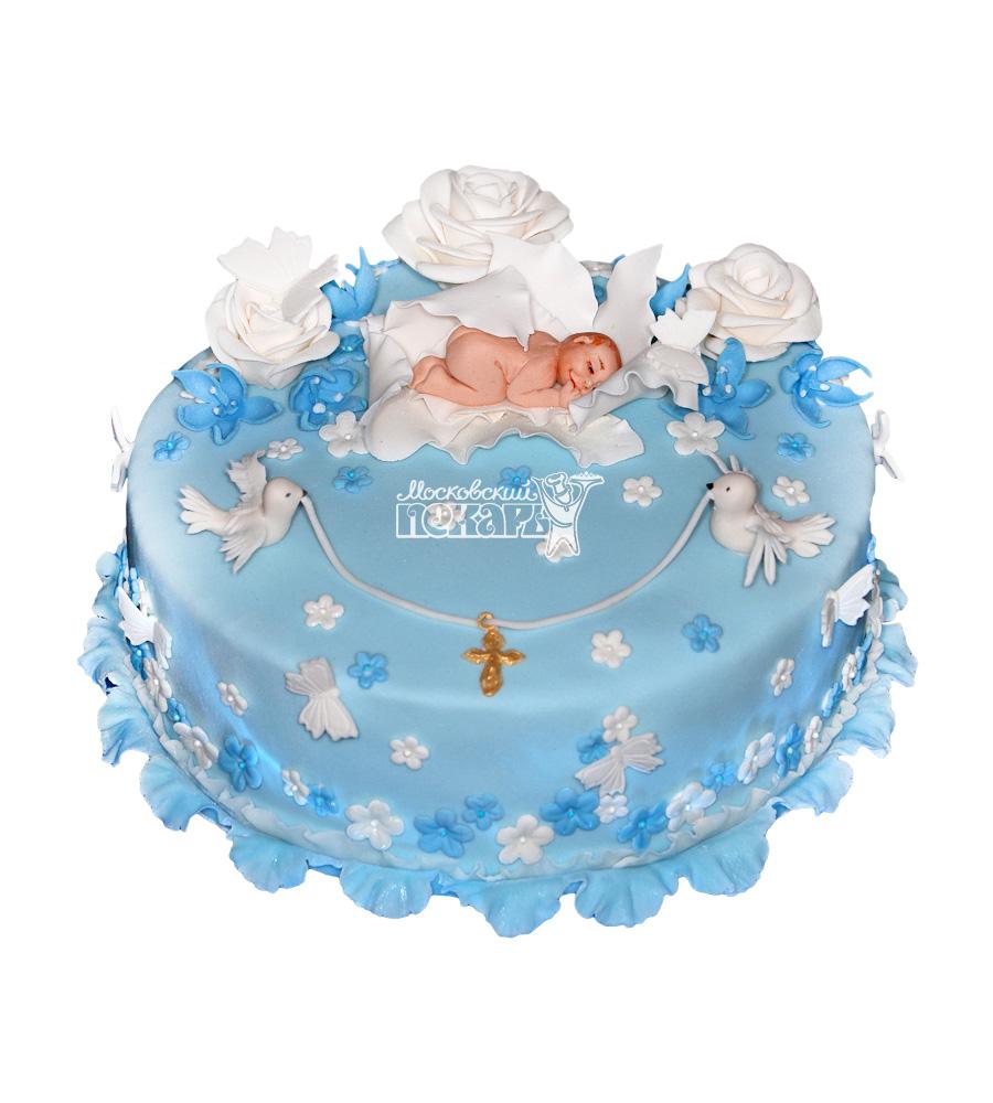 №1969 Детский торт на крещение