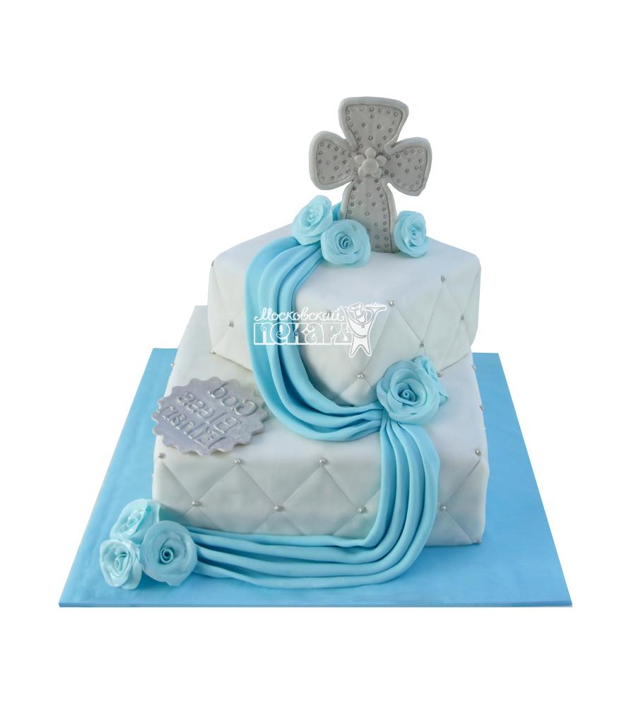 №1971 Детский торт на крещение