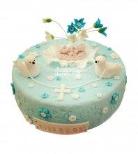 №1972 Детский торт на крещение