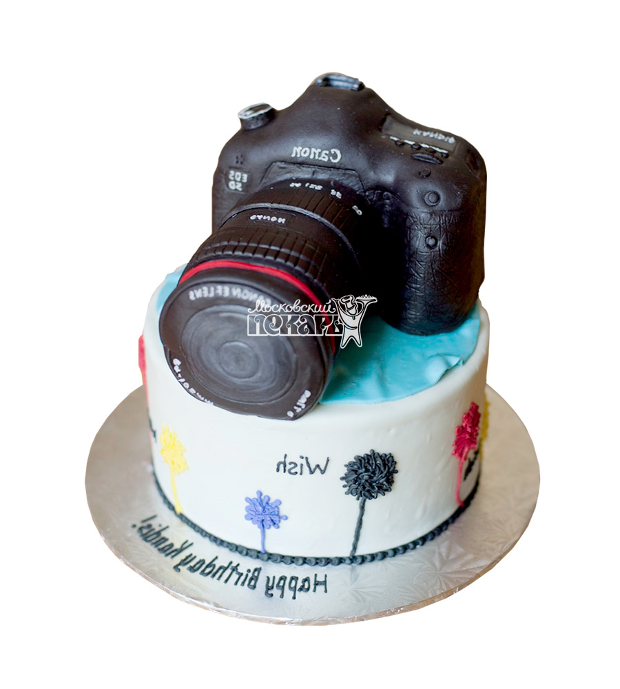 №2062 Торт фотографу (Фотоаппарат)