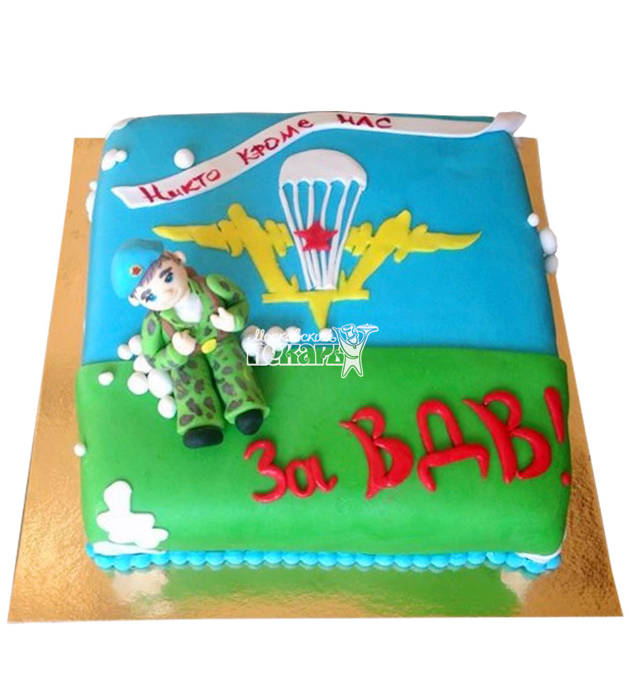 №2092 Торт ВДВ