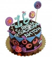 №2119 Торт на День Рождения