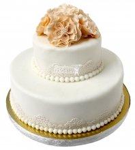 №2122 Небольшой свадебный торт