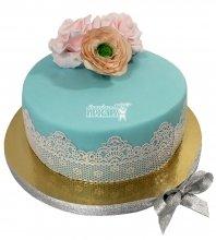 №2123 Небольшой свадебный торт