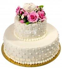 №2125 Небольшой свадебный торт