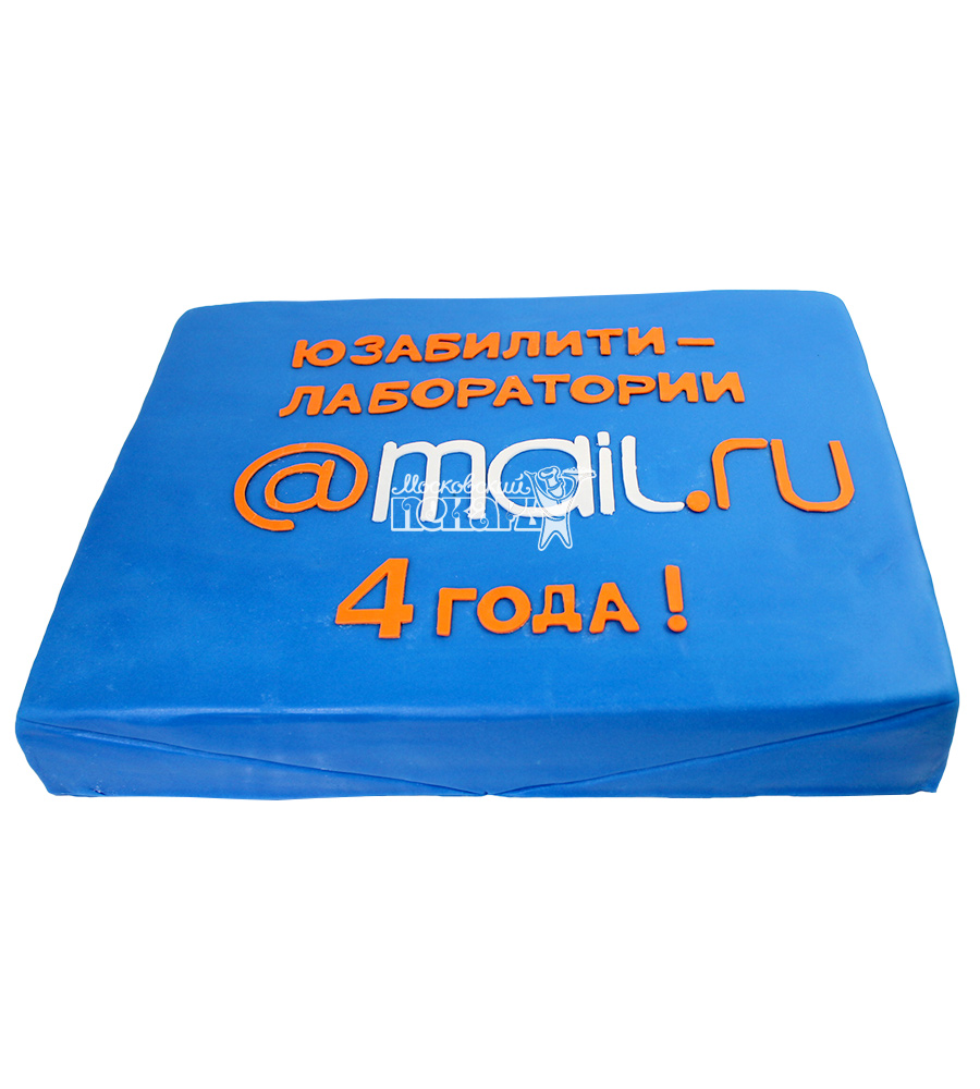 №2128 Корпоративный торт для Mail.ru