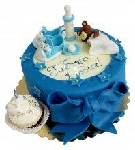№2135 Детский торт на 1 годик