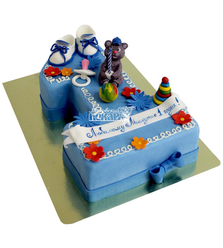 №2136 Детский торт на 1 годик