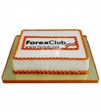 №2144 Корпоративный торт для Forex Club