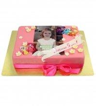 №2145 Детский фото торт