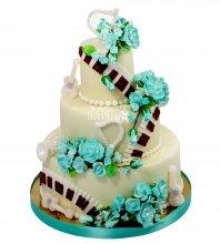 №2146 Музыкальный свадебный торт