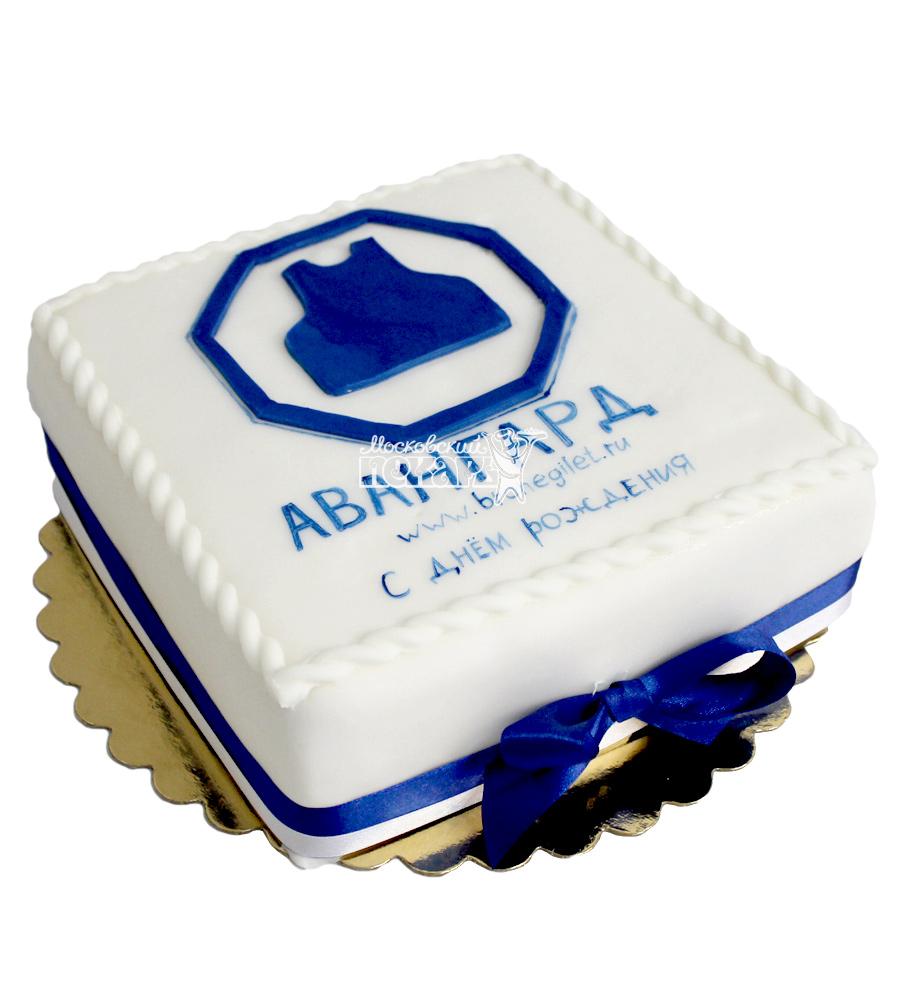 №2148 Корпоративный торт для АВАНГАРД