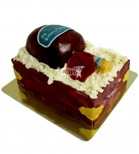 №2152 Торт бутылка