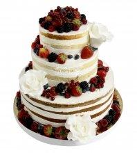 №2159 Праздничный торт с ягодами