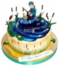 №2160 Торт рыбаку