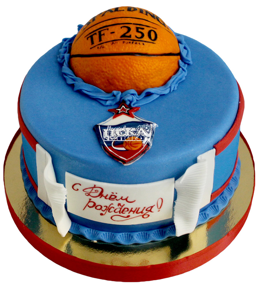 №2170 Торт баскетбол ЦСКА
