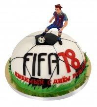 №2173 Торт FIFA