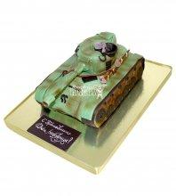 №2175 3D Торт танк