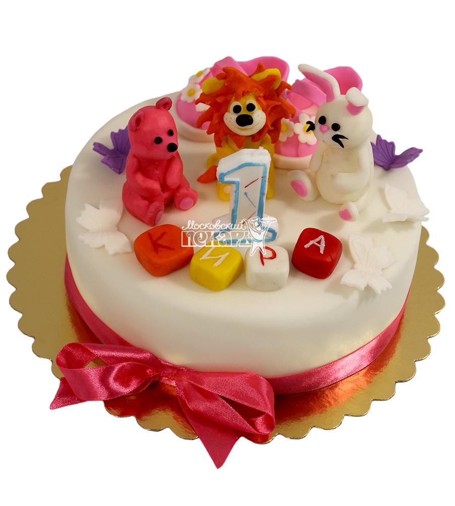 №2179 Детский торт на 1 годик