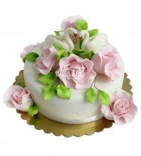 №2189 Небольшой свадебный торт