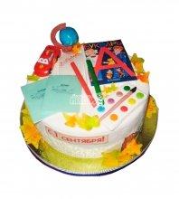 №2193 Торт на 1 сентября