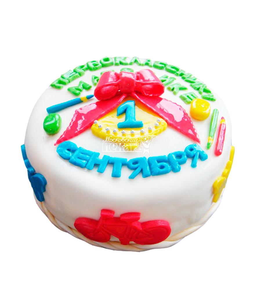 №2196 Торт на 1 сентября