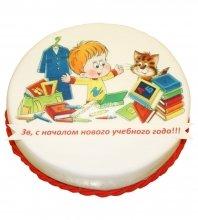 №2199 Торт на 1 Сентября