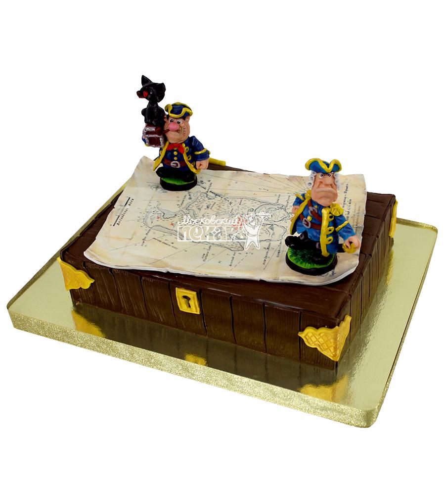 №2214 Детский торт с пиратами