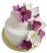 №2217 Небольшой свадебный торт