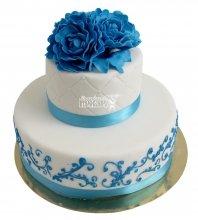 №2219 Небольшой свадебный торт