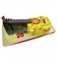 №2221 3D Торт гитара