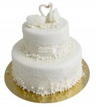 №2223 Свадебный торт классический